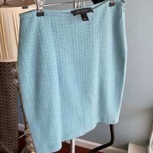 St. John skirt light green blue size 2